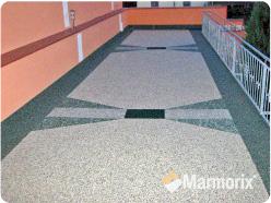 Fußboden Terrasse ~ Dachbodenterrasse mit seeansicht d übertragen hat die terrasse