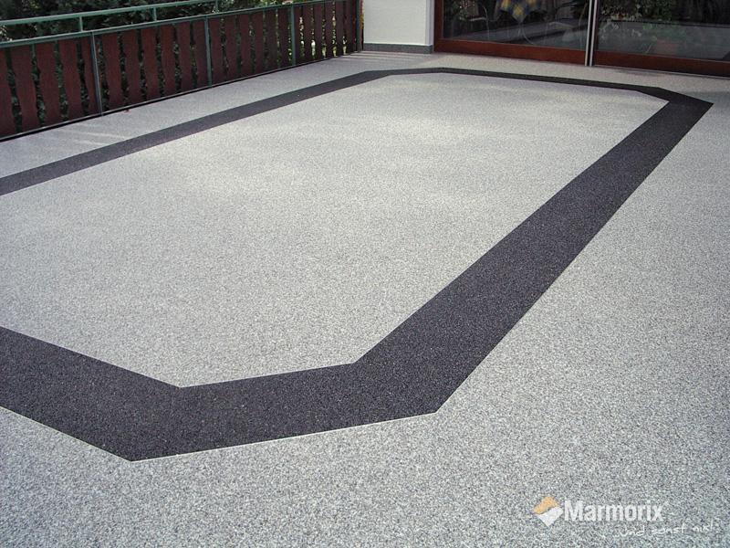 Marmorix Steinteppich Verlegebeispiele Aussenbereich