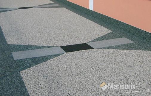 Fußboden Balkon ~ Marmorix® steinteppich verlegebeispiele außenbereich