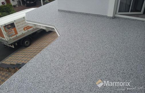 Marmorix Steinteppich Terrasse