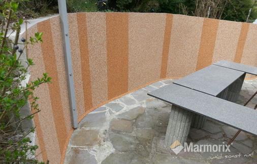 Marmorix Steinteppich Wand
