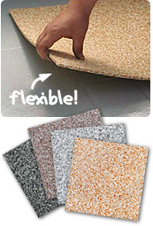 Marmorix flexible floor tile