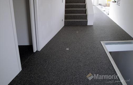 Marmorix® - Steinteppich Verlegebeispiele  Innenbereich