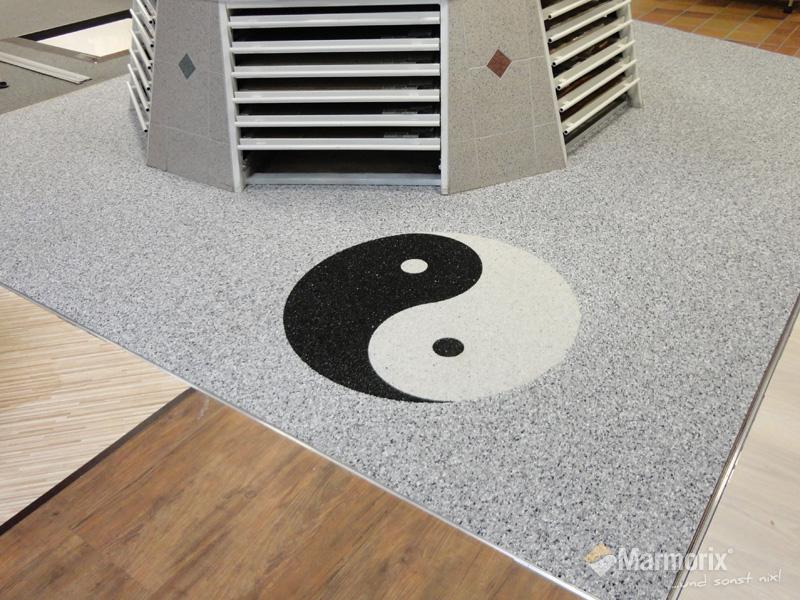 marmorix steinteppich verlegebeispiele individuelle designs. Black Bedroom Furniture Sets. Home Design Ideas