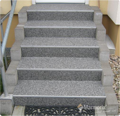 Marmorix Steinteppich Treppe