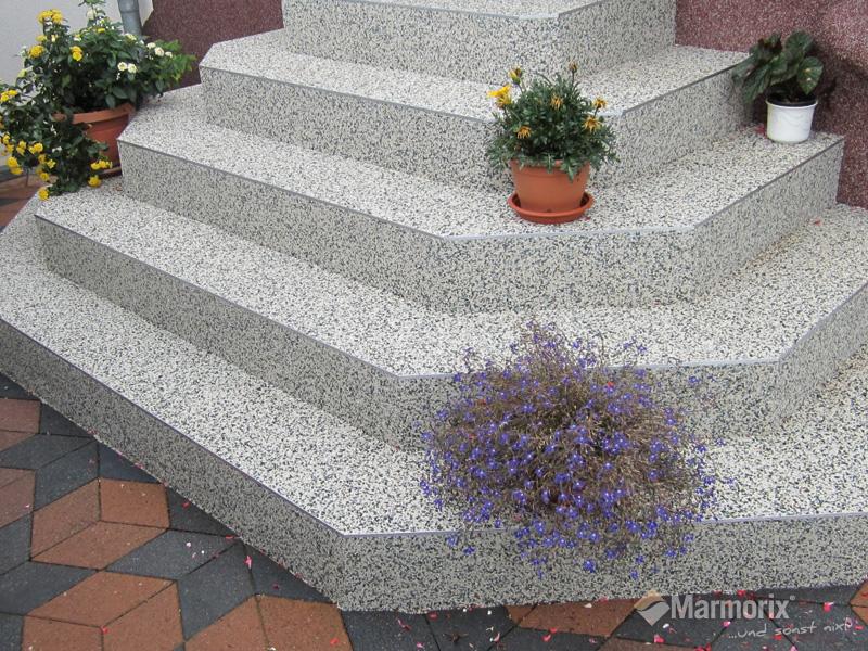 Steinteppich Treppe marmorix steinteppich verlegebeispiele treppen