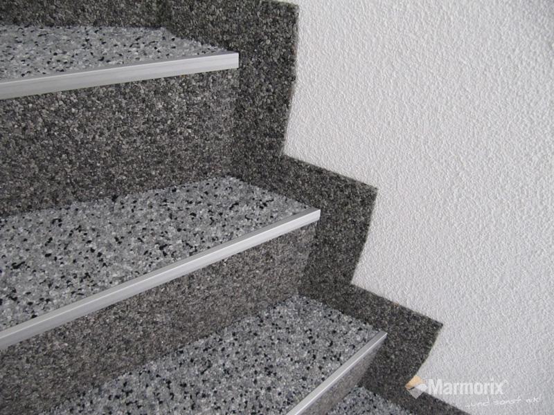 Marmorix Steinteppich Verlegebeispiele Treppen